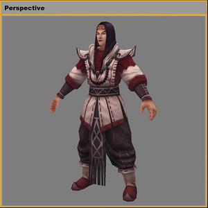 characters- yu huo-huo 3D model