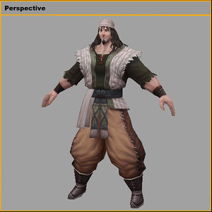 3D model characters-yachasu