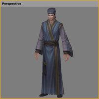 3D characters-wang sheng