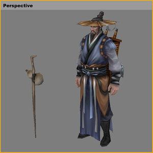 3D characters-virtual summer