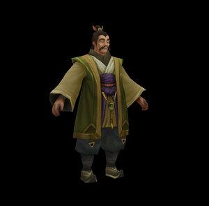 characters - mount businessman 3D model