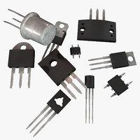 3D model transistors