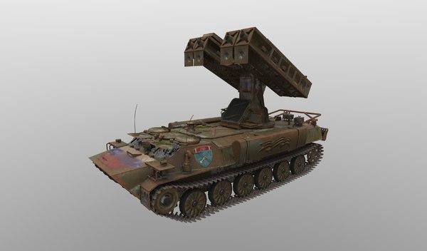 9k35 strela-10 3D