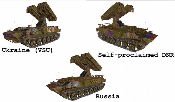 9k35 strela-10 dnr 3D model