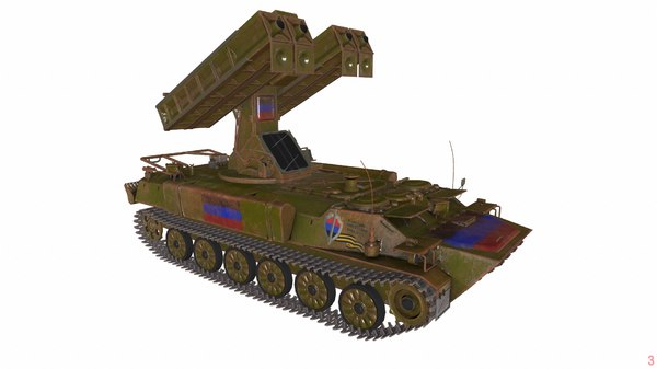 3D model 9k35 strela-10