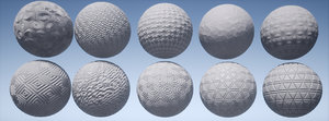 Abstract PBR Tile Material 02