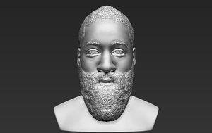 3D james harden bust ready