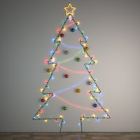 3D diy christmas light tree