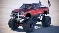 Dodge RAM 1500 Rebel 2019 Monstertruck