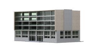 office building set 3D model