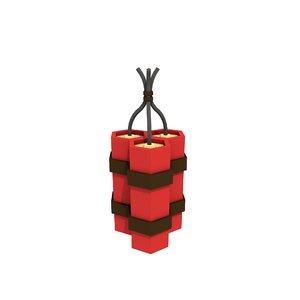 3D simple dynamite