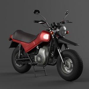 vintage motorcycle tula 3D model