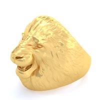 ring lion 3D