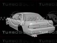 3d model nissan silvia s13 (tuning)