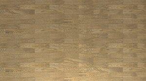 3D oak wood floor