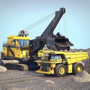 quarry scene 3D