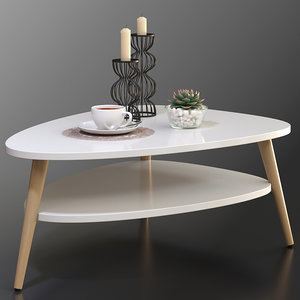 3D coffee table la redoute model