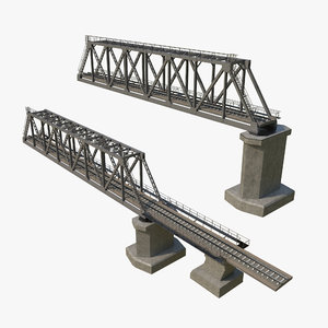 railway bridge 3D