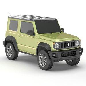 suzuki jimny 2019 3D model