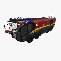rosenbauer panther 8x8 3D model