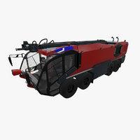 3D rosenbauer panther 8x8