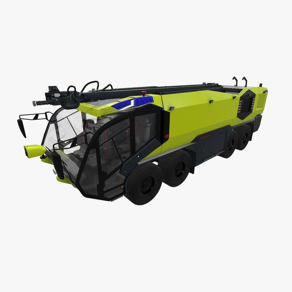 rosenbauer panther 8x8 3D model