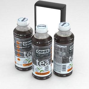 tea bottle 3D model