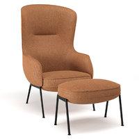 3D fogia mame armchair