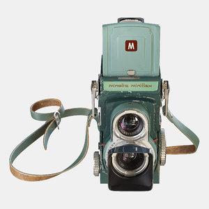 3D model miniflex minolta film