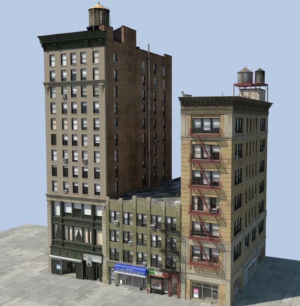 nyc buildings 3d model