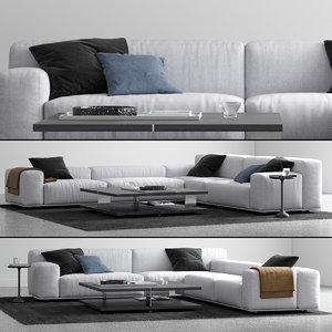 3D delano sofa l