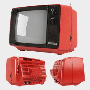 tv yunost-402 3D model