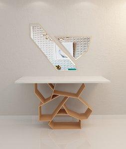 3D modern designed model