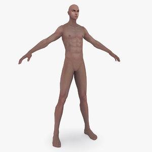 man body 3D