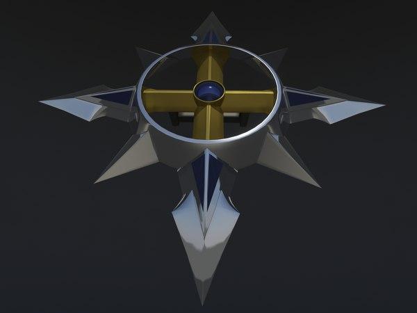 3D voltron shield classic