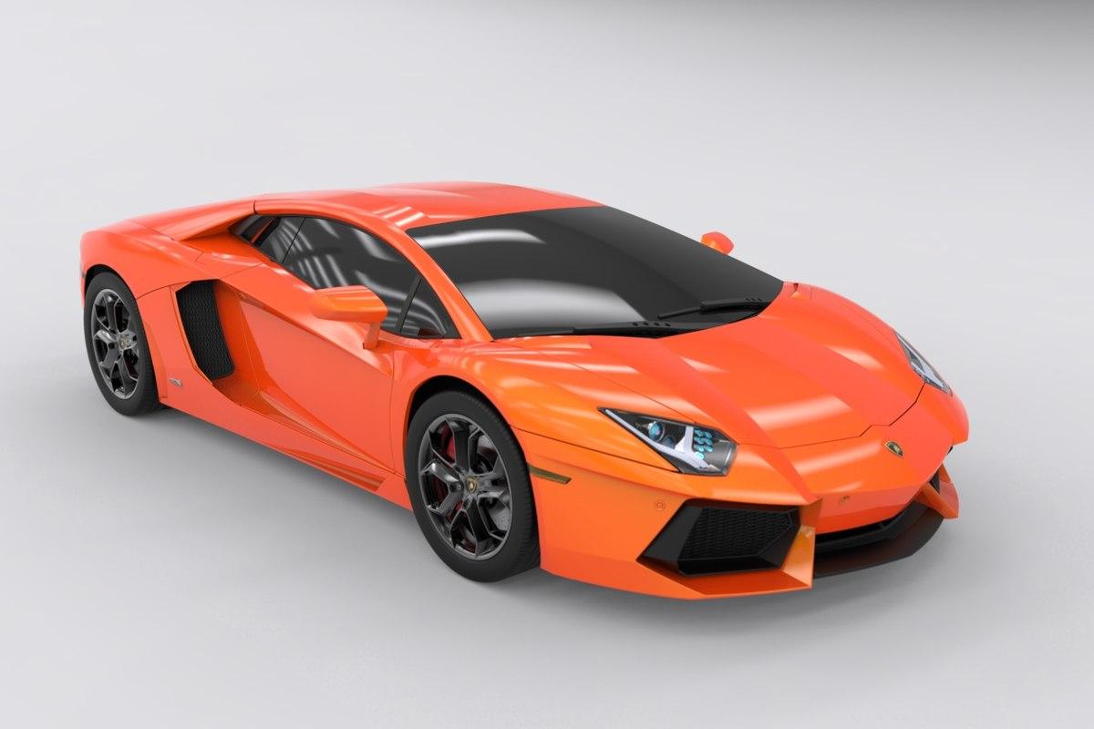 Lamborghini Aventador Lp700 4 3d Turbosquid 1359875