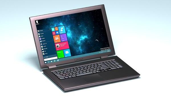 laptop 3D model