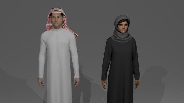 3D model saudi uae