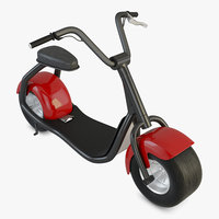 3D scooter e-scooter