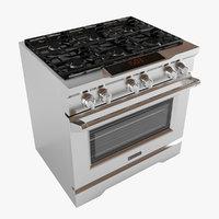 range kdrs467vmw oven 3D model