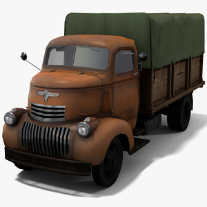covered truck model