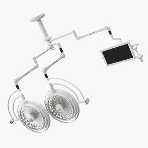 3D ceiling mount berchtold chromophare