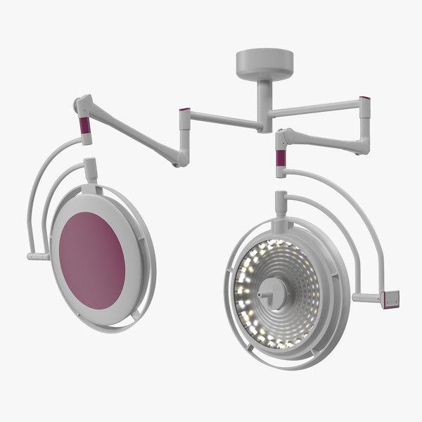 3D ceiling mount modular surgical model