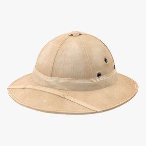 3D north vietnamese tropical helmet