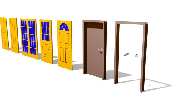 3D model small door package