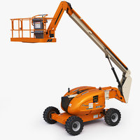 3D jlg 600aj telescopic boom model