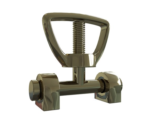 3D brass model
