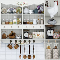 3D provence dishes