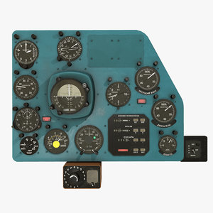 right panels board mi-8mt 3D model