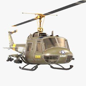 3D bell uh-1b iroquois
